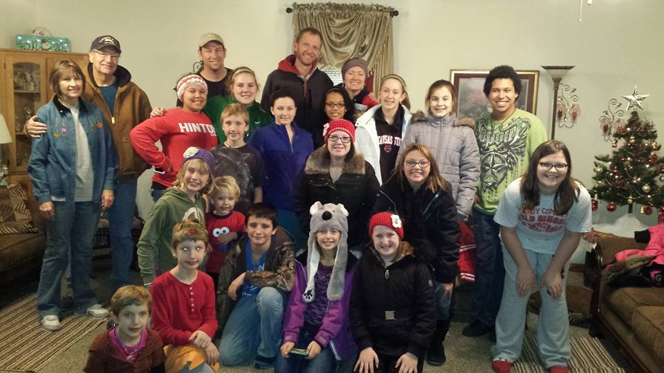What a great night caroling! Merry Christmas everyone from the youth of the First Christian Church!!!